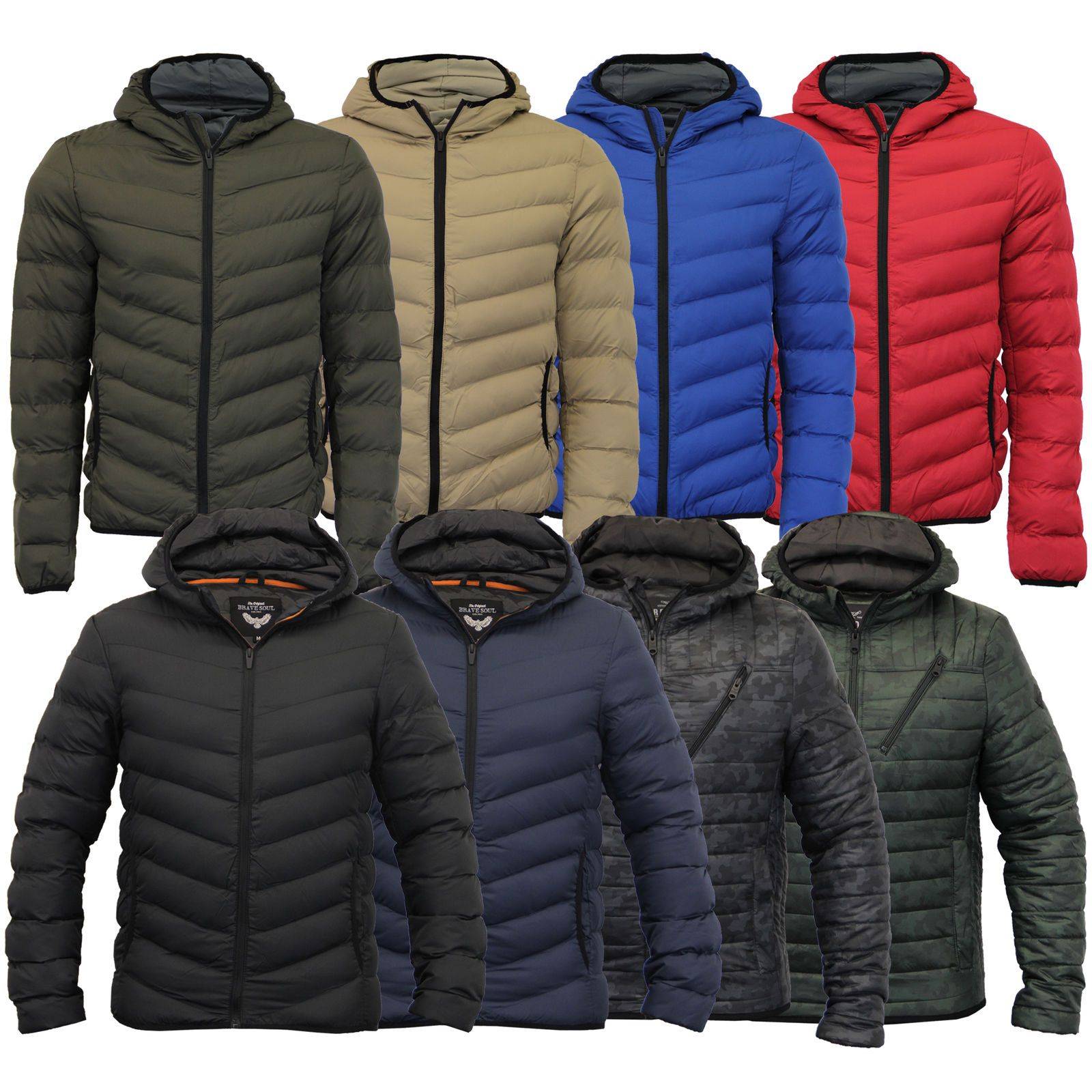 Brave Soul Mens Stylish Jackets