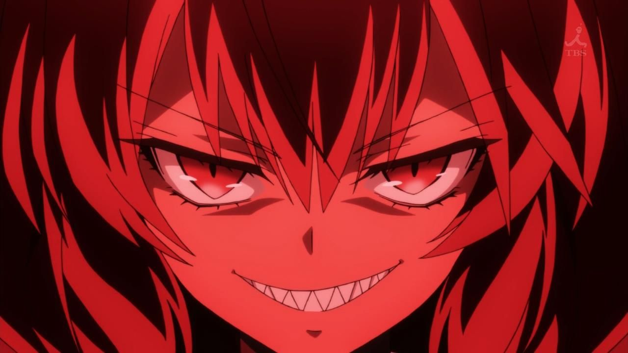 Evil Red Anime Eyes Anime Girl Red Eyes Evil