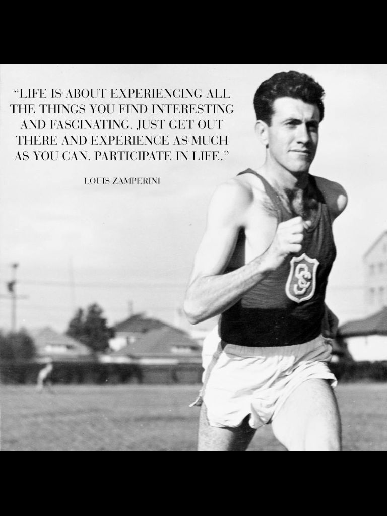 Unbroken Quotes Louis Zamperini  Quotes  Pinterest