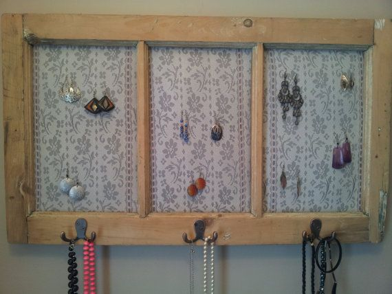 Check out this unique jewelry organizer I found on Etsy https