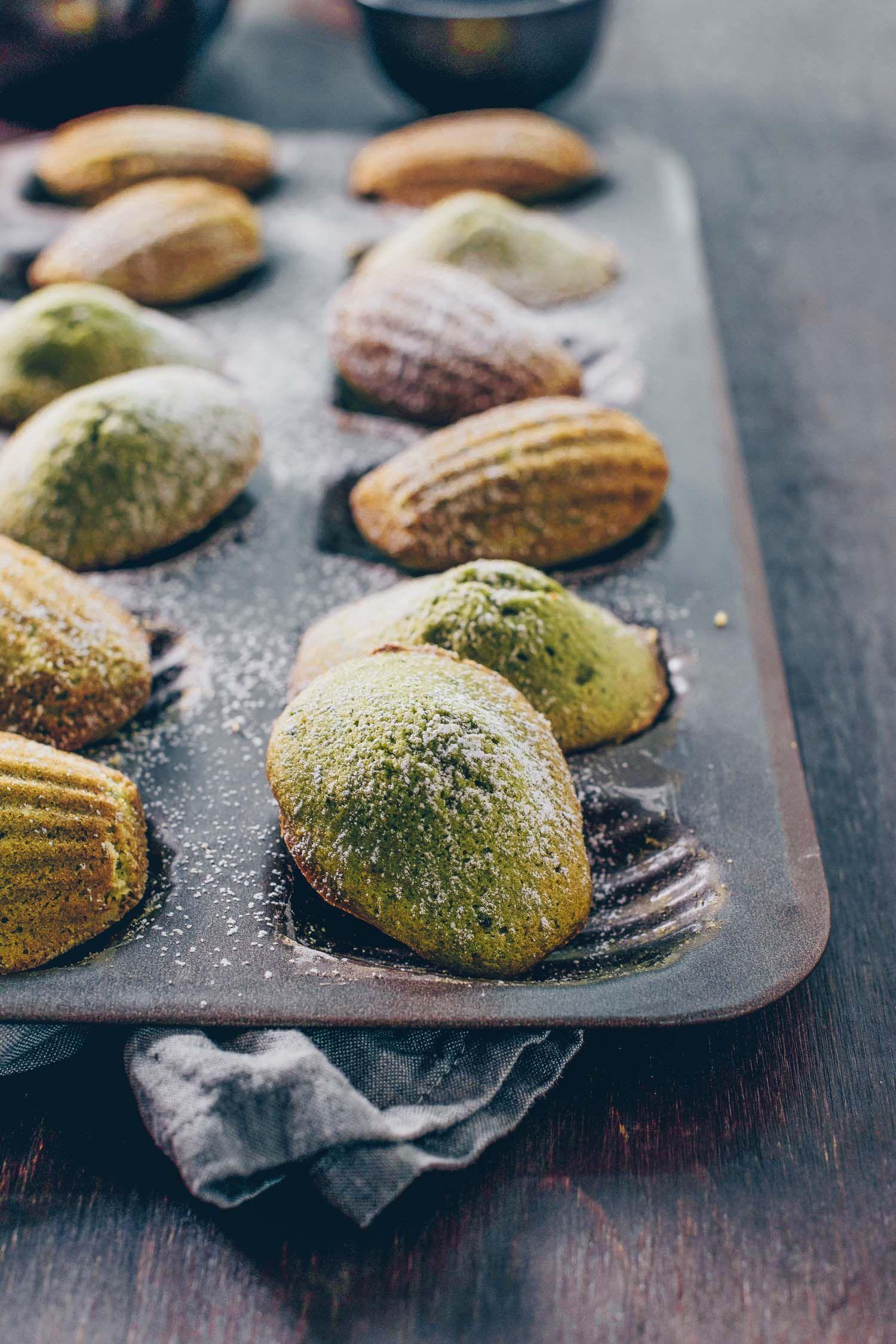 Photo of Matcha (Green Tea) Madeleines
