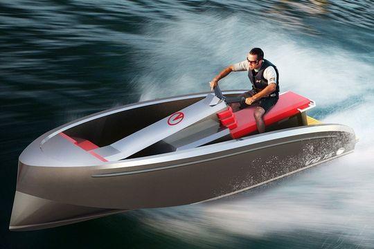 Avec Le Vq 15 Tender Ou Jet Ski A Vous De Choisir Bateau Nautisme Jet Ski