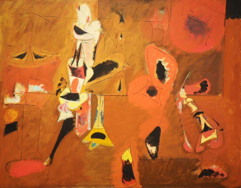 Arshile Gorky Agony 1947 Moma Nyc In 2020 Art Abstract Artwork