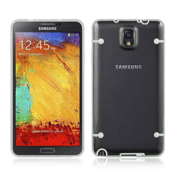 DW Fusion Candy Case for Samsung Galaxy Note 3 - White/Clear