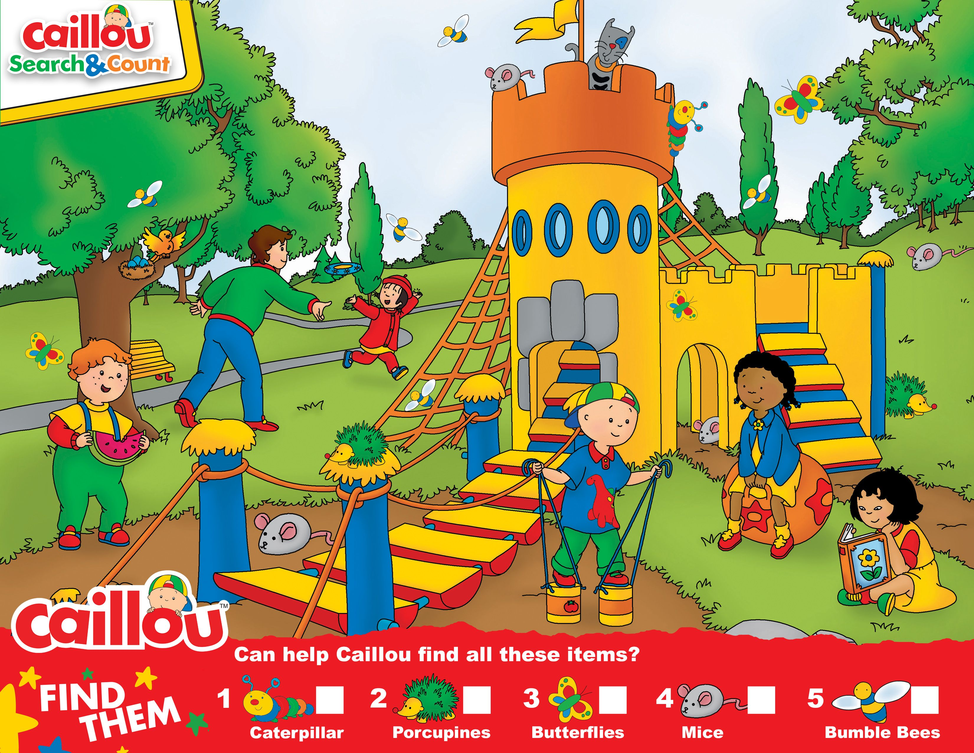 Pin By Caillou On Caillou Activities Amp Printables