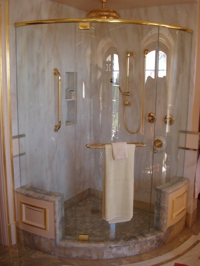 Frameless Showers Products Coastal Curved Gl