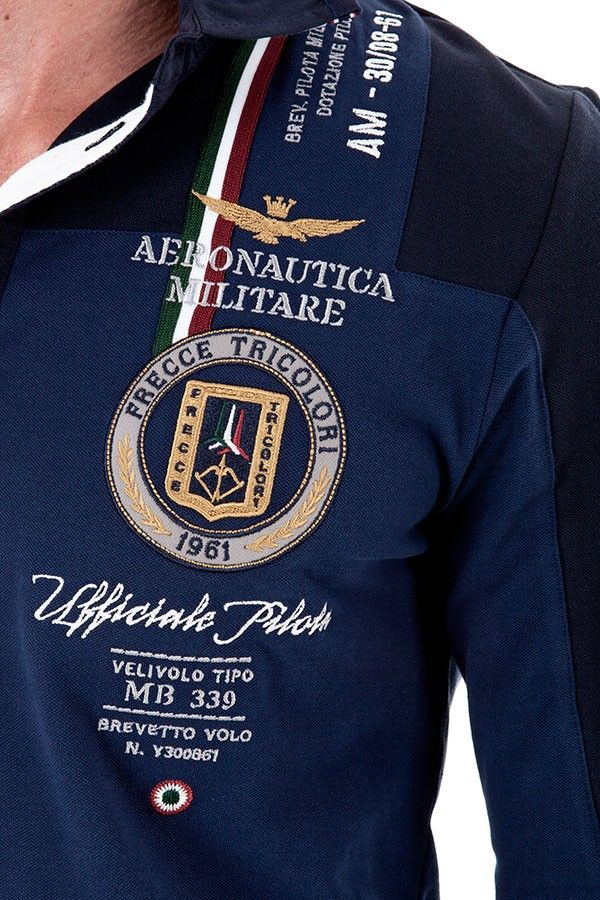120872cc598 Aeronautica Militare POLO M.L. - Fall Winter 15