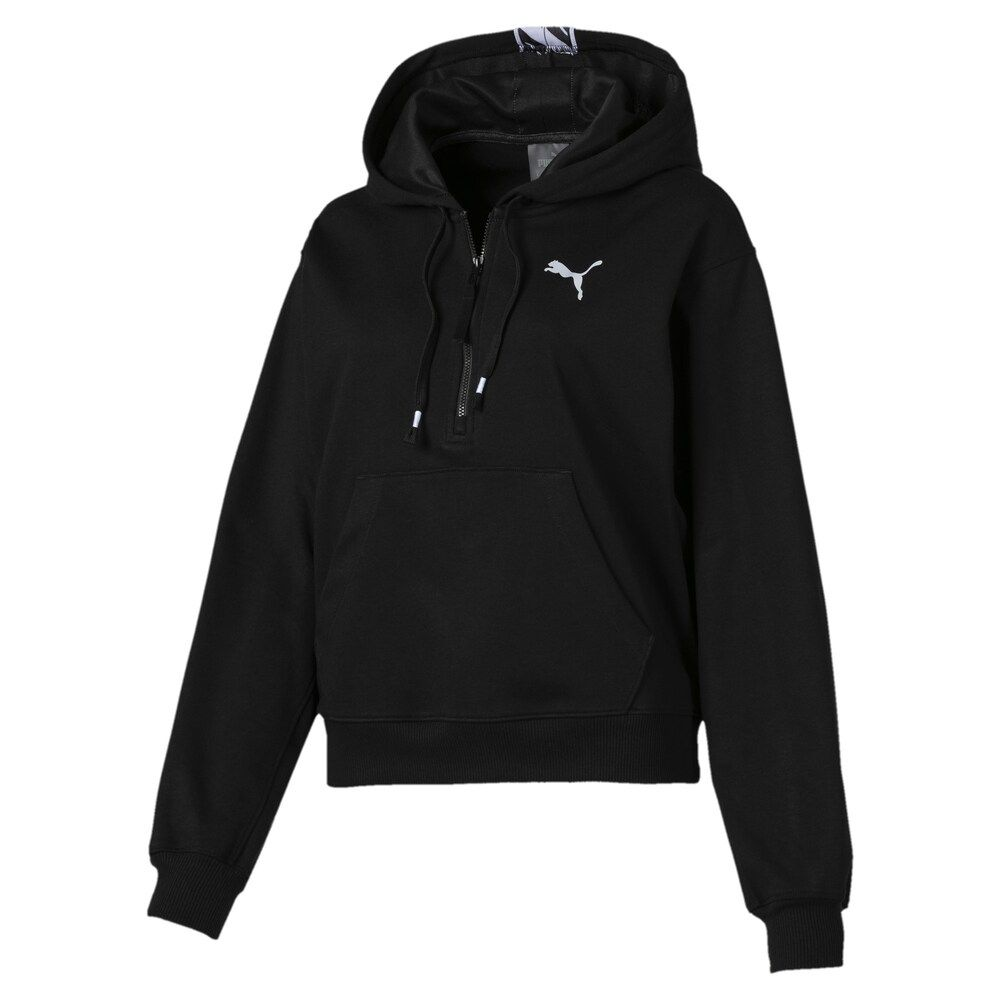 Puma Sweatshirt Feel It Damen Schwarz Grosse L Kapuzenpullover Damen Sweatshirts Sweatjacke Damen
