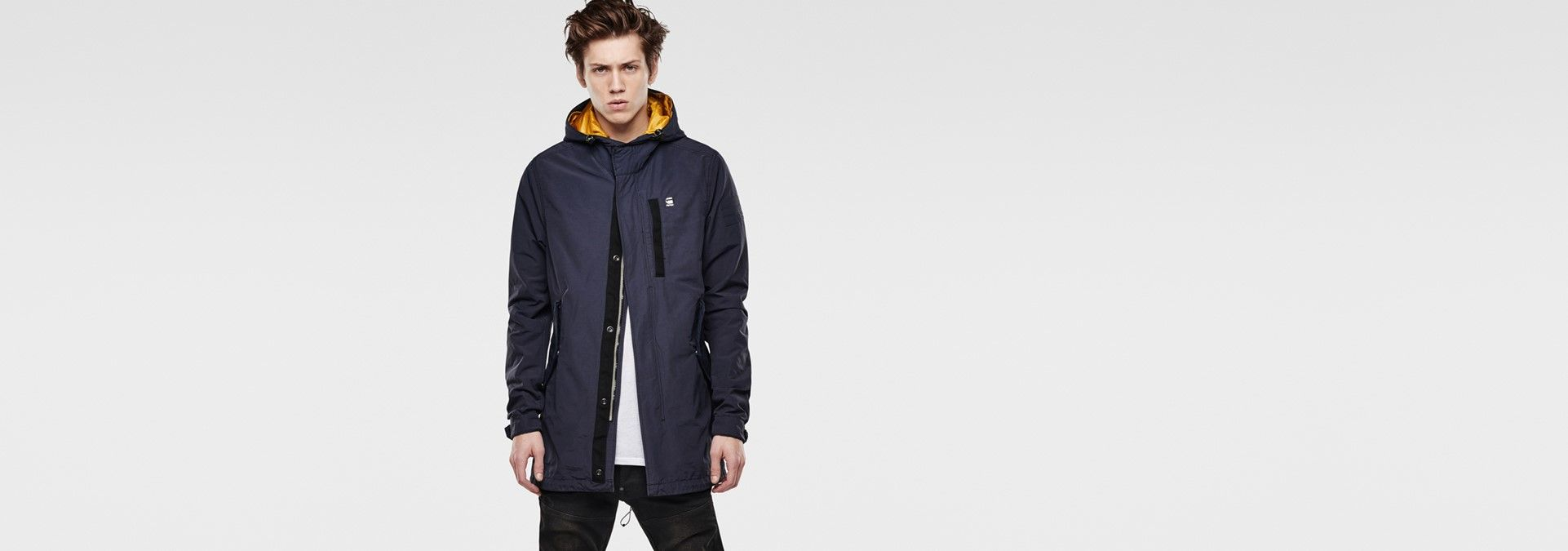 G-Star RAW | Manner | Jacken | Jacor Hooded Parka , Indigo
