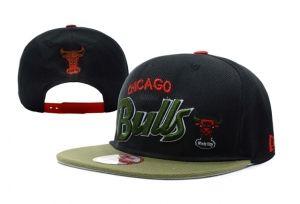 227f0404bef Casquette NBA Chicago Bulls Snapback Noir Kaki   Casquette Pas Cher ...