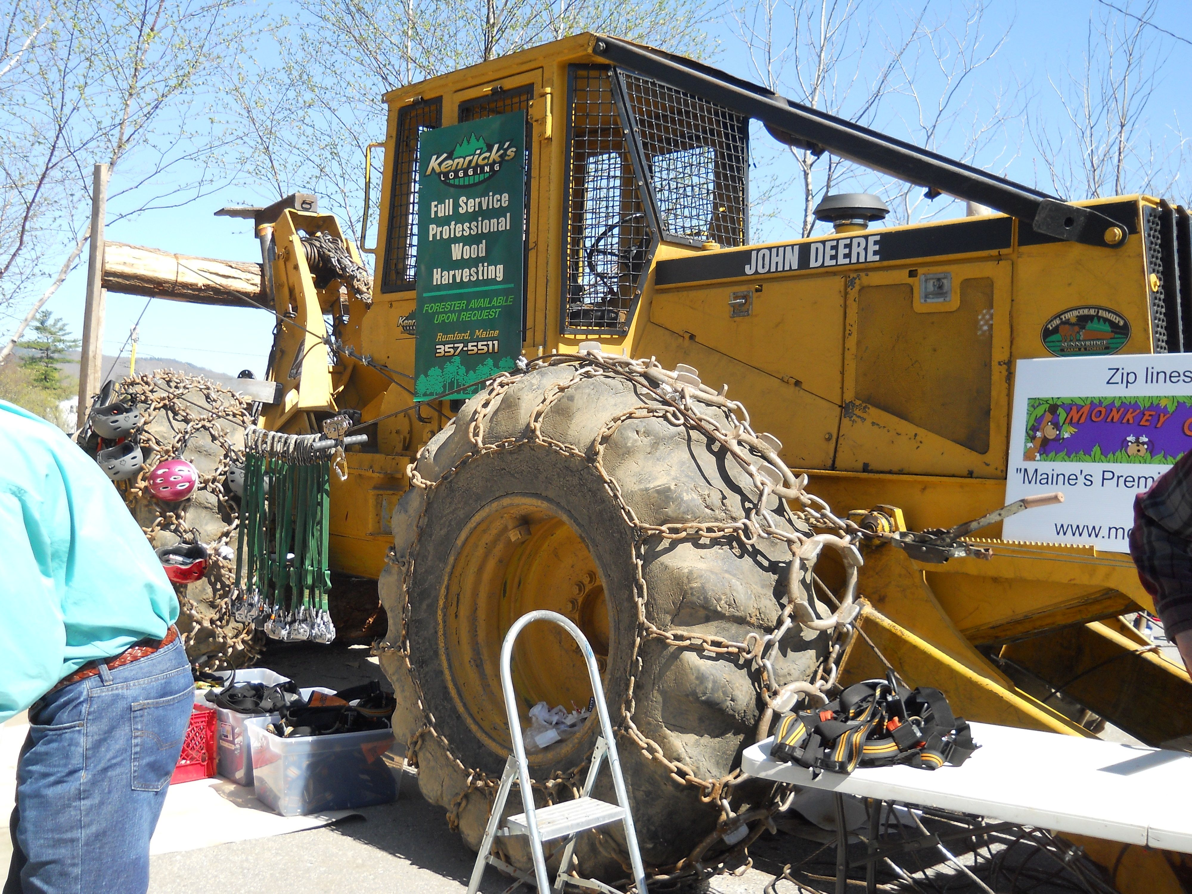 Tree farmer skidder for sale in ny - 640e Skidder With Zip Tie Cable And Equipment For The Sport Of Zip Tie Https