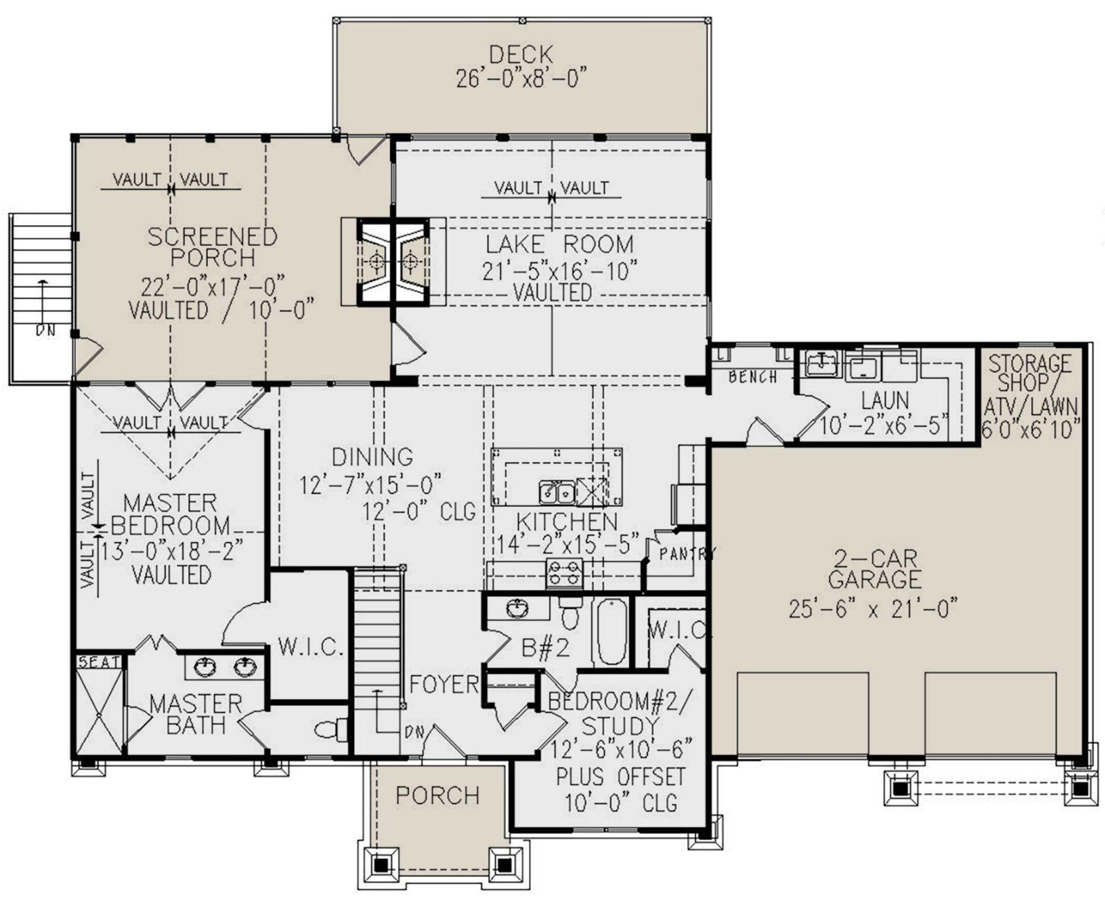 House Plan 699 00158 Mountain Plan 2 510 Square Feet 4 Bedrooms 3 Bathrooms Basement House Plans Cabin Floor Plans Building Plans House