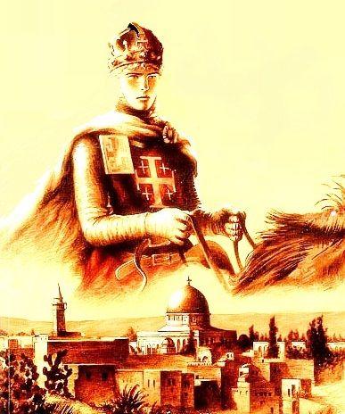 Uma das mais belas representações do jovem rei Balduíno IV.