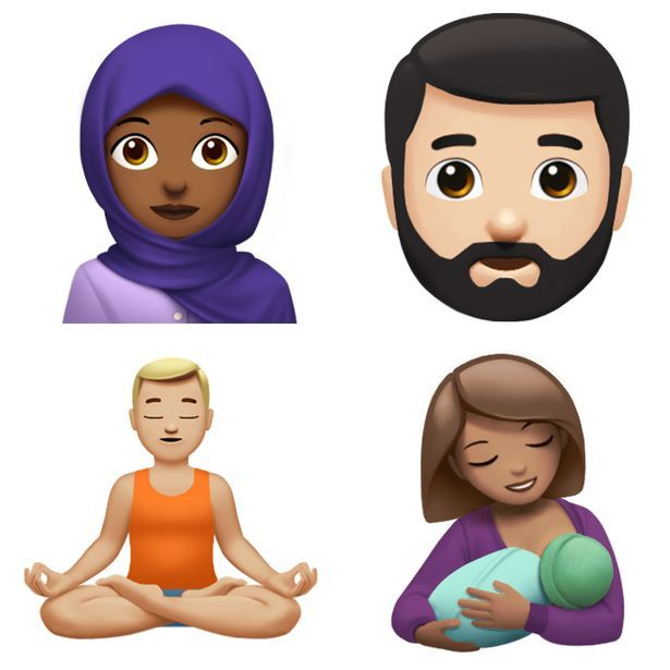 Classical Mag Apple Shows Off New Emojis Coming To Your Iphone World Emoji Day Ios Emoji Emoji