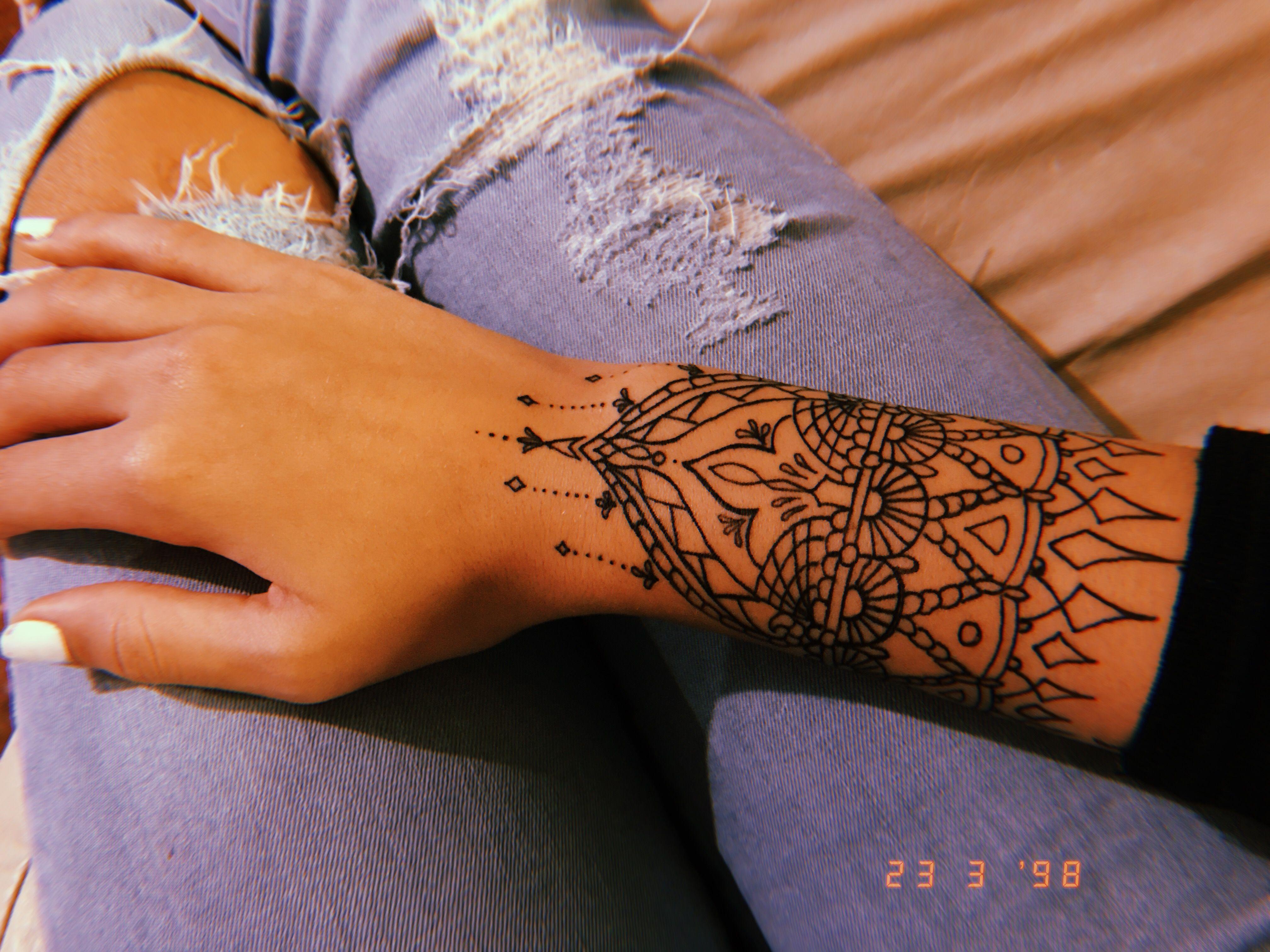 Wrist Mandala Tattoo Desenhos Tatuagem No Tornozelo Tatuagem Bracelete Feminino Modelo Tatuagem