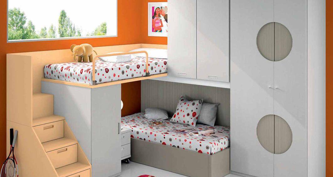 habitaciones juveniles que se transforman y literas