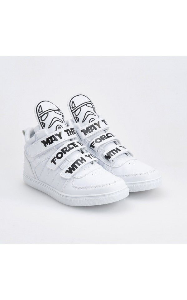 Buty Star Wars Buty Bialy Reserved Star Wars Shoes Shoes White Sneaker