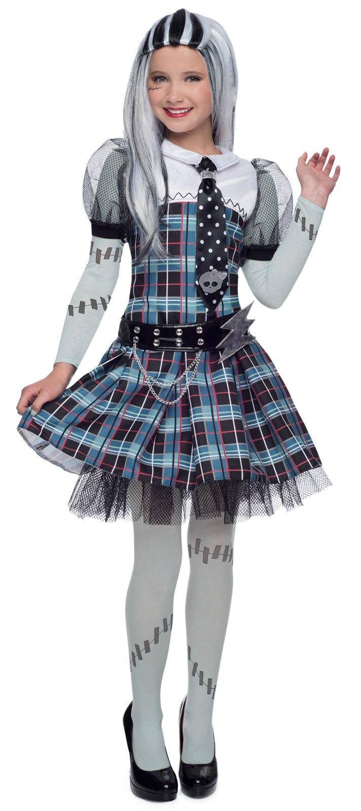 deluxe monster high frankie stein costume from buycostumes. Black Bedroom Furniture Sets. Home Design Ideas