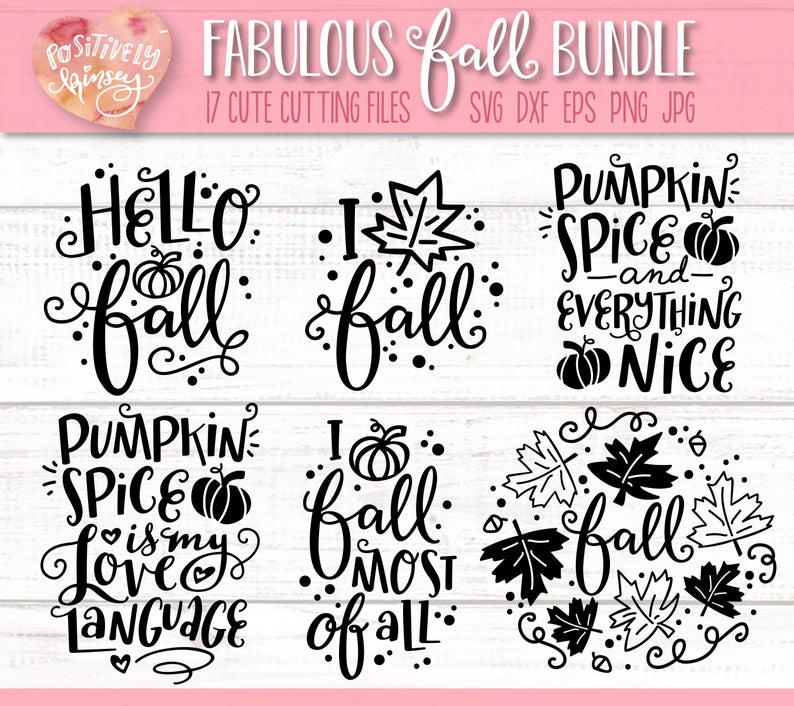 Fall Svg Files Fabulous Fall Svg Bundle Pumpkin Svgs Hello Etsy Hello Fall Quotes Svg Quotes Fabulous Fall