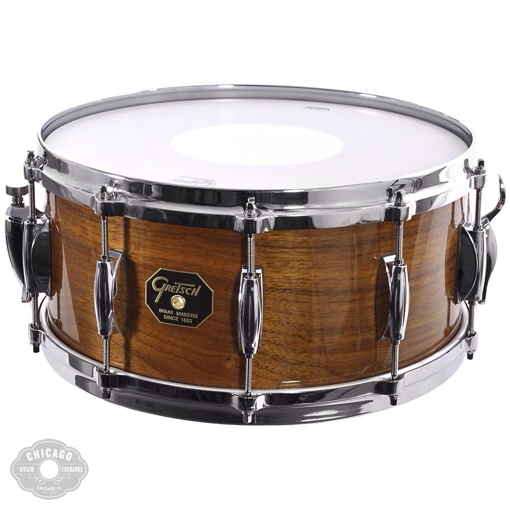 gretsch 14 x5 5 custom maple snare drum when i 39 m gone my love will live in song snare. Black Bedroom Furniture Sets. Home Design Ideas