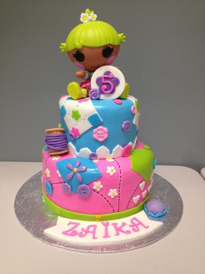 GLAMOURCAKES lalaloopsy cake  Lalaloopsy cakes  Pinterest