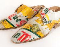 Smart shoes by Mark O'Brien, via Behance
