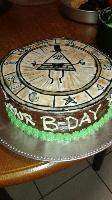 Gravity Falls Birthday Cake Ideas The Best Cake Of 2018