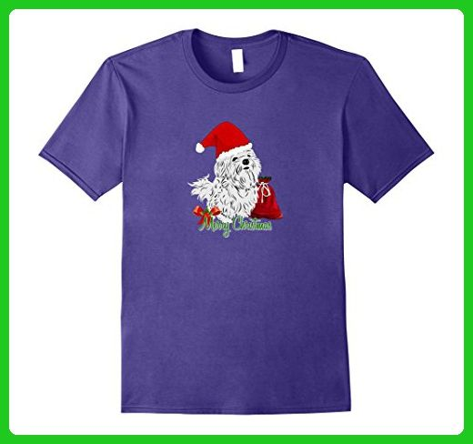 Mens Maltese Dog Christmas T Shirt Gift Puppy Love Xmas Wish Large