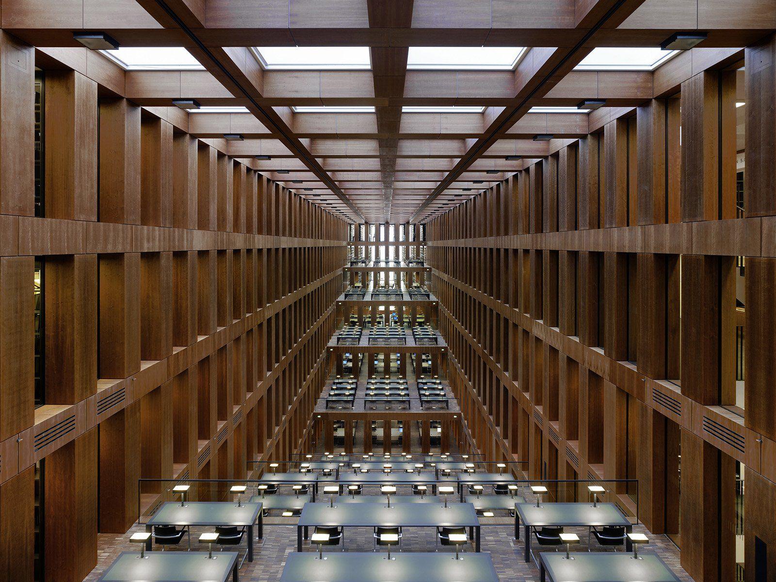Jacob Und Wilhelm Grimm Zentrum Max Dudler Arquitectura Galerias Fotografia