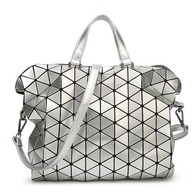 85ee644f88 Bao bao women pearl bag laser sac bags Diamond Lattice Tote geometry  Quilted shoulder bag Foldable handbags   Crossbody bag