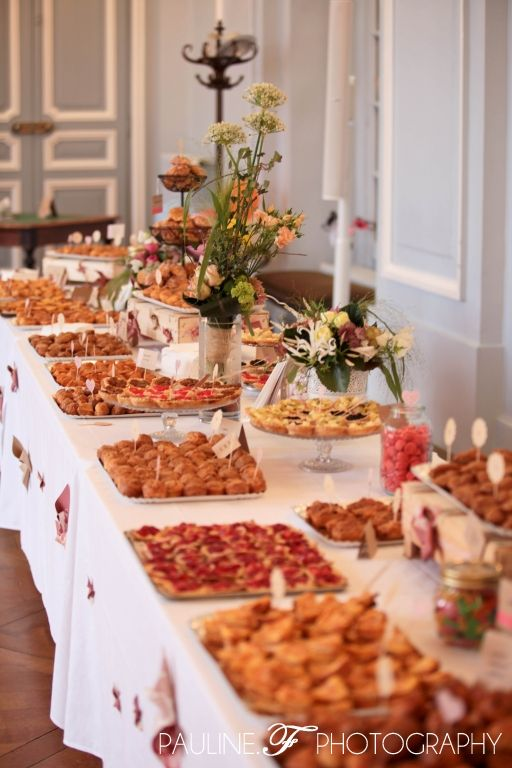 Populaire buffet mariage home made fi(lle)ancée | Party - Food Table  VS39