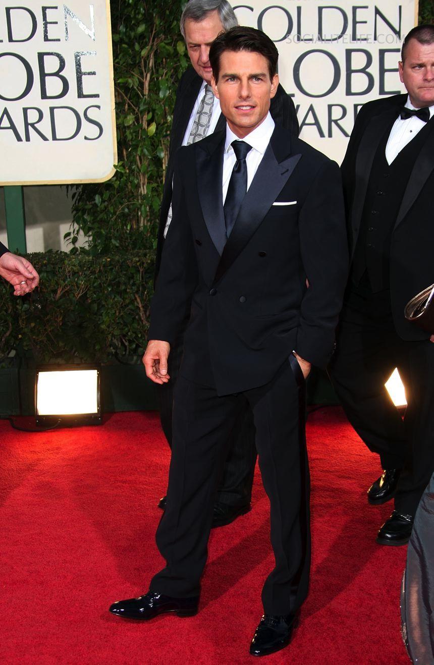 tom cruise at 2009 golden globes fashionred carpet men