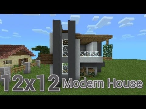 Minecraft PE Let s Build   12x12 Modern House on YouTube this house looks  amazing  I. Minecraft PE Let s Build   12x12 Modern House on YouTube this