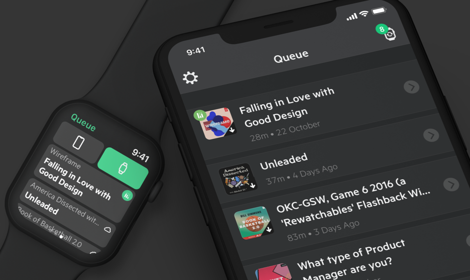 Podcast App Castro Updated With Apple Watch Sync