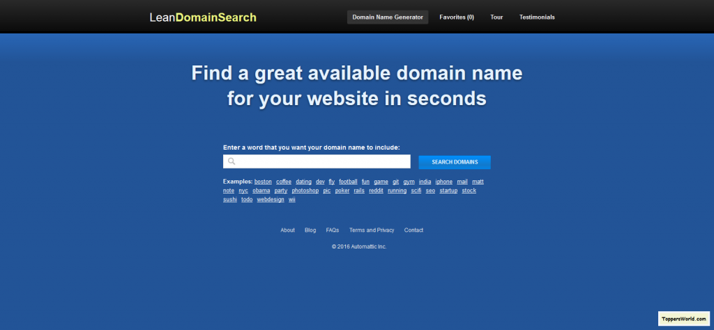 Top 10 Tools To Pick The Perfect Domain Name For Your Website Website Names Your Website