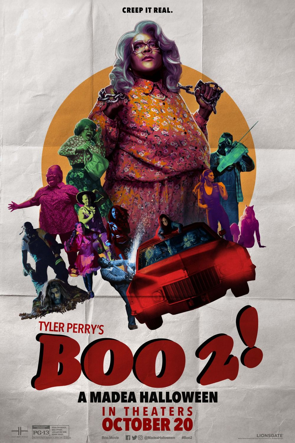 Return to the main poster page for Boo 2! A Madea