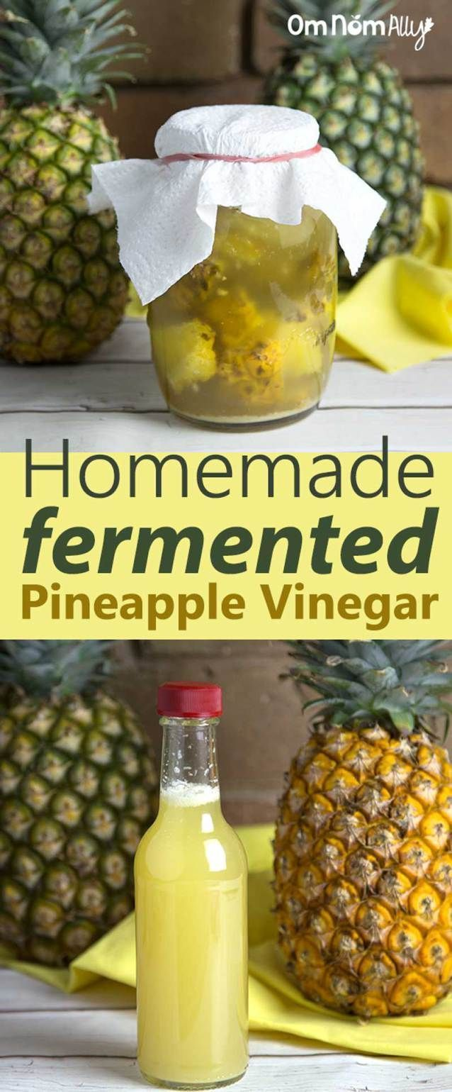 Is vinegar a fermented food