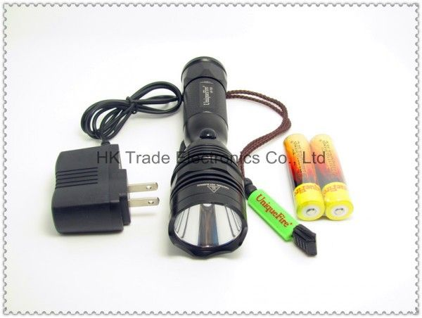 (Buy here: http://appdeal.ru/23uy ) Cree XM-L U2 1200LM Rechargeable LED Flashlight Searchlight Torch+2x18650 battery + charger(UniqueFire UF-T01)~ for just US $425.99