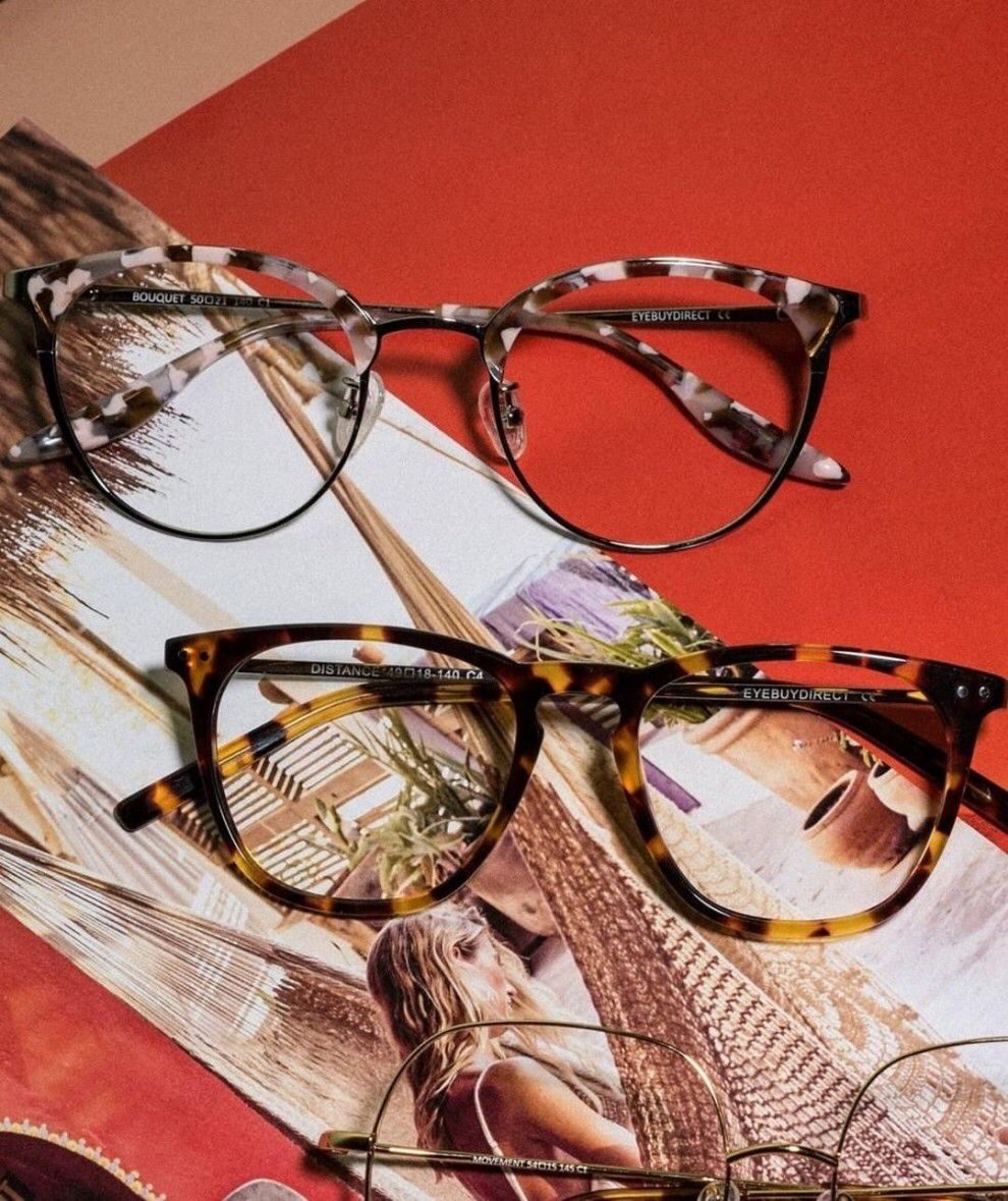 A Pair Of New Eyeglasses Frames That'll Switch Up Your