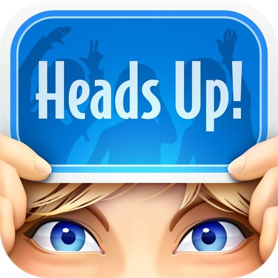 big news i 39 ve got a brand new game that you can play with your friends its called heads up. Black Bedroom Furniture Sets. Home Design Ideas