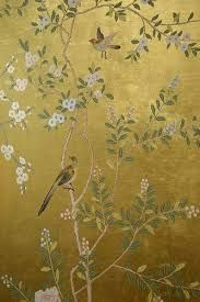 hand painted wallpaper - Google Search