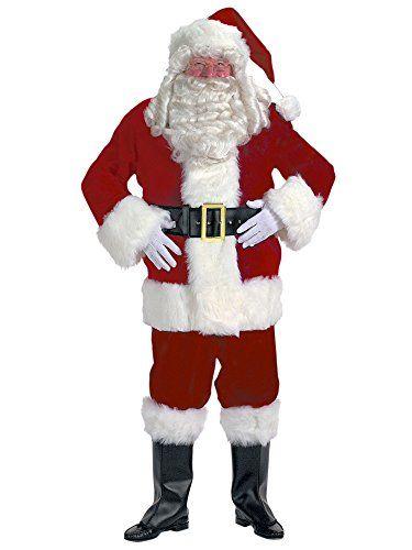 5309f77dc1e6d Exquisite Dark Velvet Santa Suit Costume Large Chest Size 4248     Click  for Special Deals  ChristmasCostumes