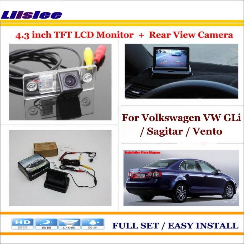 Volkswagen Vw Gli Sagitar Vento 2005 2011 Car Reverse Rear Camera Sale Oempartscar Com Car Parking Camera Rear View Camera Lcd Monitor