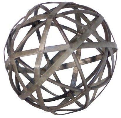 VIP Home U0026 Garden Decorative Metal Galvanized Ball ...