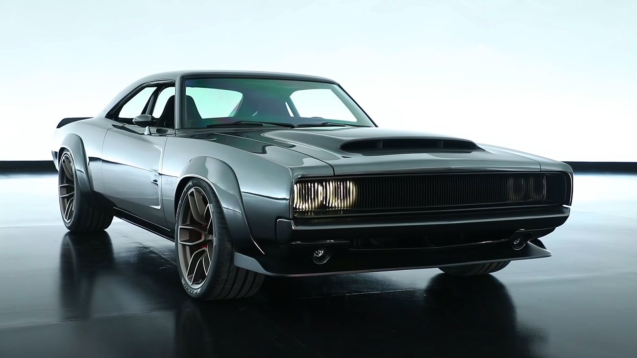 Monstrous 1968 Super Charger With 1000 Horsepower 426 Hemi Engine Hemi Engine Dodge Muscle Cars Muscle Cars