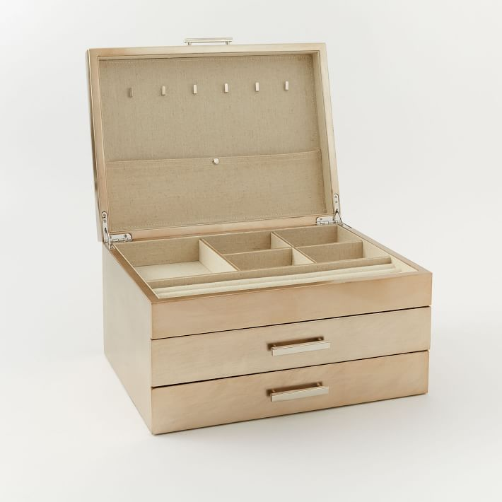 21+ West elm mid century jewelry box information