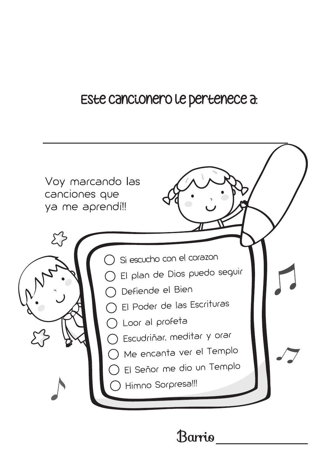 LINDO Cancionero Primaria SUD 2016   Primaria sud, El plan de dios y ...