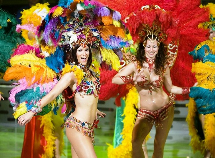 And Wear These Fiesta Brasileña Samba Brasileña Danza Folklorica