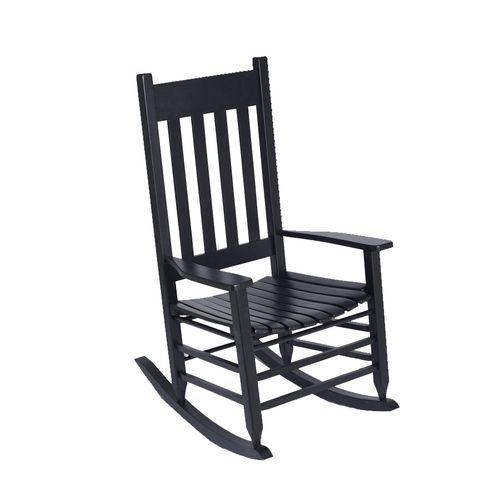 black outdoor rocking chair lowes 99  Exteriors and