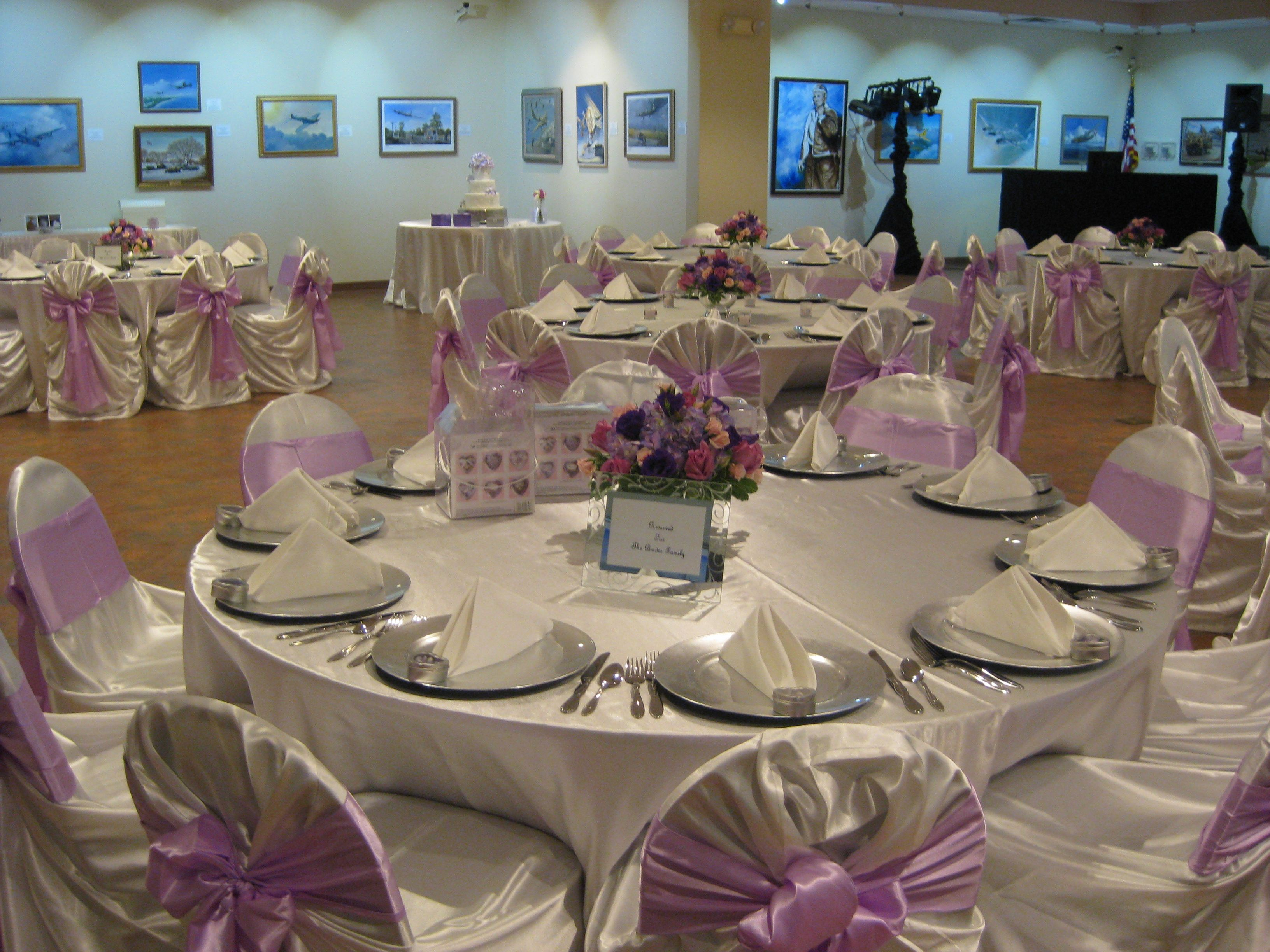 Art Gallery wedding at National Museum of the Mighty